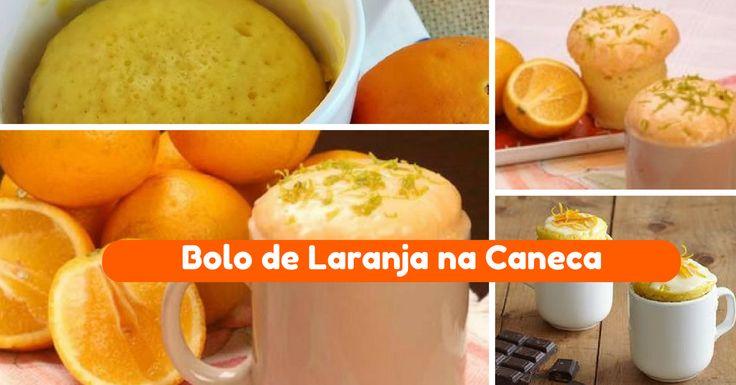 Receita de Bolo de Caneca de Laranja - http://topreceitasfaceis.com/receita-bolo-caneca-laranja/