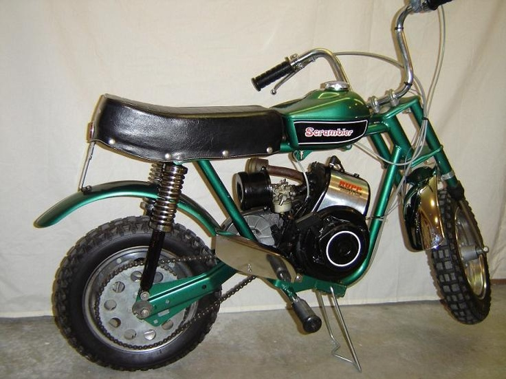 1971 Rupp Scrambler....Loved this Mini-Bike Emerald Green Metallic ...