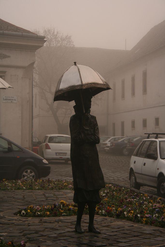 Umbrella Ladies of Óbuda, Budapest