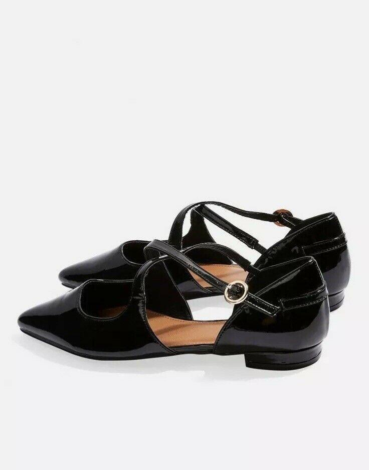 5fadb3738c WIDE FIT ANASTASIA Pumps TopShop Black Dolly Shoes Size 5 | eBay ...