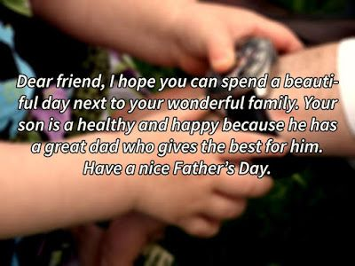 Happy Fathers Day Wishes To a Friend 2017...