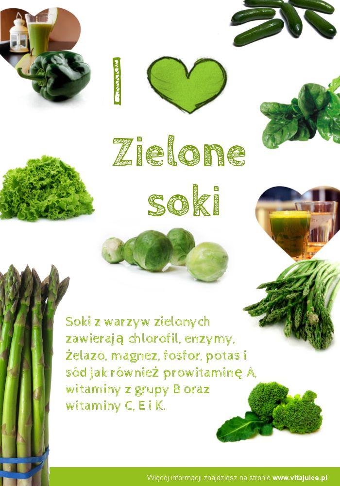 Zielone soki z warzyw  green juice  http://www.vitajuice.pl
