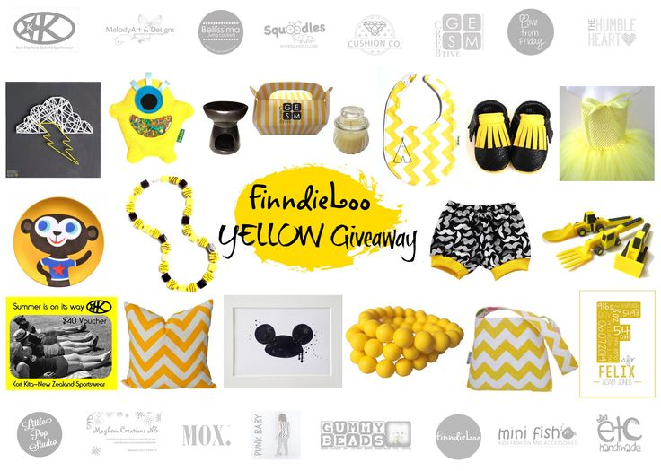Enter to win: FinndieLoo's YELLOW GIVEAWAY | http://www.dango.co.nz/s.php?u=cvWM0tOm2394