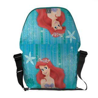 Ariel and Castle Courier Bag