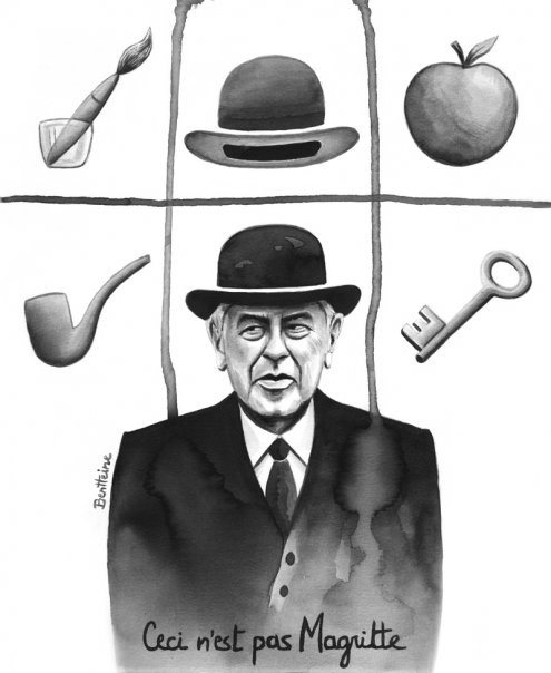 """""""Ceci n'est pas Magritte"""" ... by Ben Heine"""