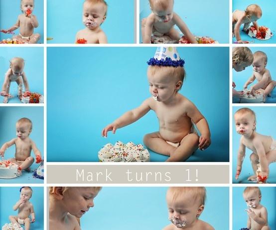 Cake Smash 2013 boy turns 1