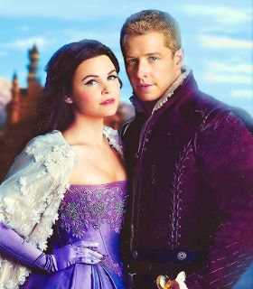 Once Upon a Time, Prince Charming (David) and Snow White (Mary Margaret) :)