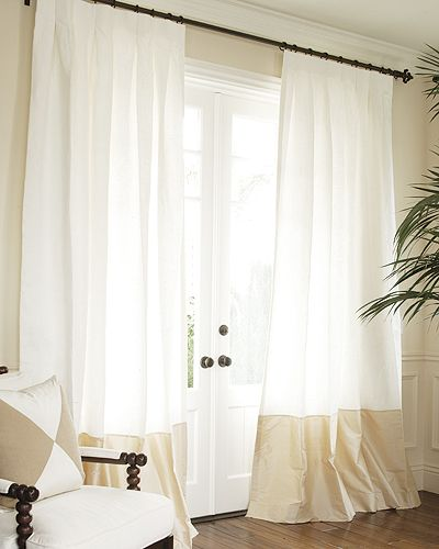 1000+ Ideas About Silk Curtains On Pinterest