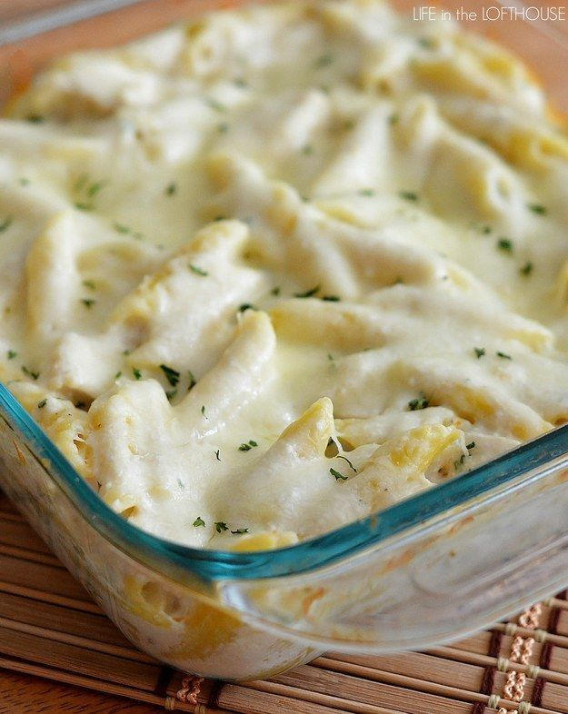 Drei-Käse-Hühnchen-Auflauf | 26 unfassbar gute Nudelgerichte aus dem Ofen, die Dich wärmen werden