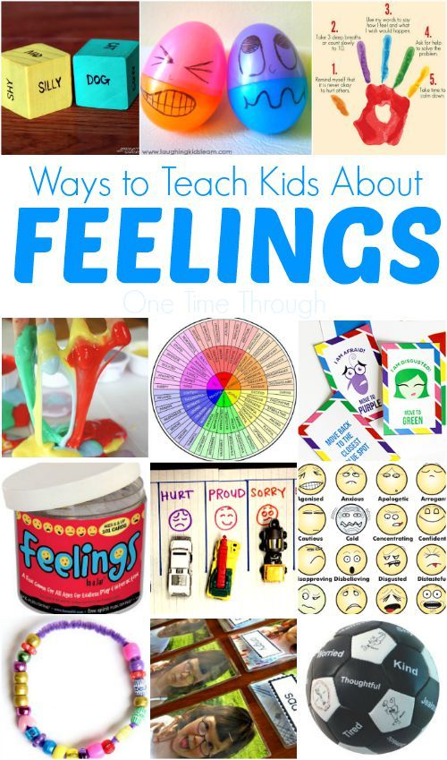 Teach Kids About Feelings with these fun activities and crafts.  Emotional intelligence is so important!!