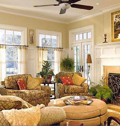 Warm & Relaxin' Den Decorating Ideas