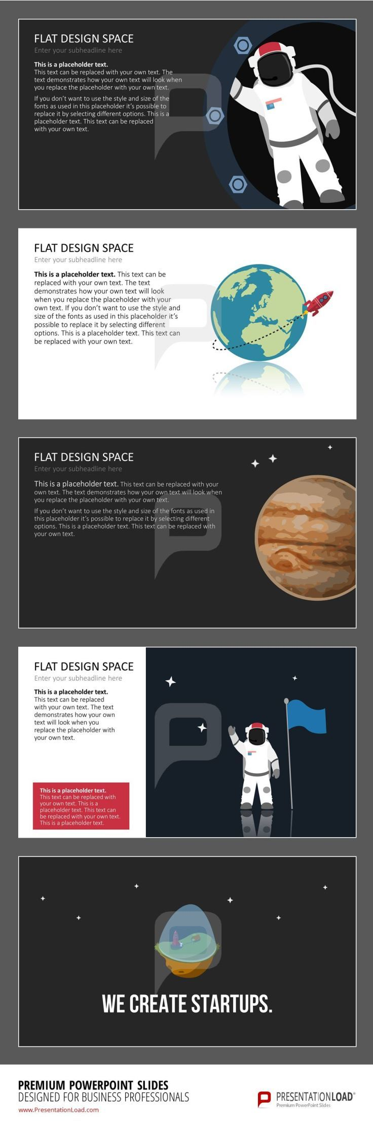 144 best flat design powerpoint templates images on pinterest slides with space graphics in minimalistic flat design and uniquely designed charts alramifo Gallery