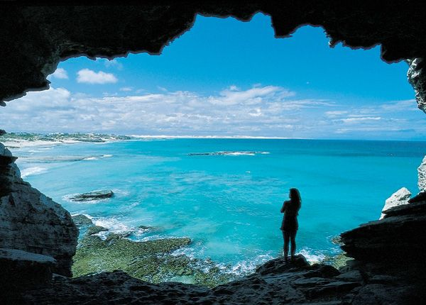 The Cave in Arniston Bay, South Africa. BelAfrique your personal travel planner - www.BelAfrique.com
