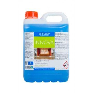 INNOVA. Detergente higienizante, para la limpieza e higiene de todo tipo de superficies, suelos, paredes y elementos sanitarios. Su delicada formulación lo hace recomendable como producto multiusos de espectro antibacterias e higienizantes en superficies delicadas. Presenta un agradable perfume. Recomendado para suelos y sanitarios. http://www.ilvo.es/153-innova-higienizante-desinfectante-multisuperficies-antibacterias-perfumado.html