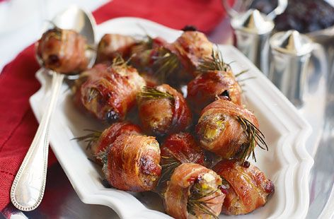 Cranberry and sausage stuffing balls with bacon - Tesco Real Food