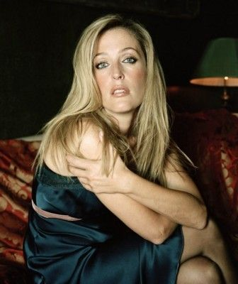 Gillian Anderson.  20 years on from the X-Files and still gorgeous.