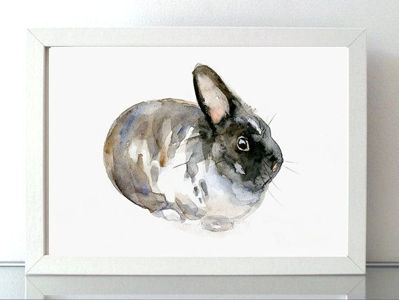 ➽➽ BUY 2 Get 1 FREE Order 2 prints of the same size and add a note with the link of the 3rd print you would like to order.  ➽ SIGNED and numbered giclee art print of my rabbit watercolor  Find the original Painting here: https://www.etsy.com/nl/listing/152417332/waterverf-schilderij-van-een-konijn-dier?ref=shop_home_active_10&ga_search_query=konijn  SIZE OF PAPER: Please choose when you order  ➽ ABOUT THE FINE ART PRINTS (A4 and smaller sizes)  HIG...