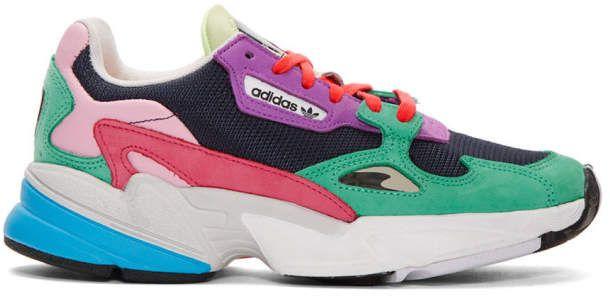 adidas Multicolor Falcon 90s Low Top