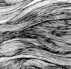 Deze hele afbeelding bestaat uit lijnen. Dit is een organische lijn.