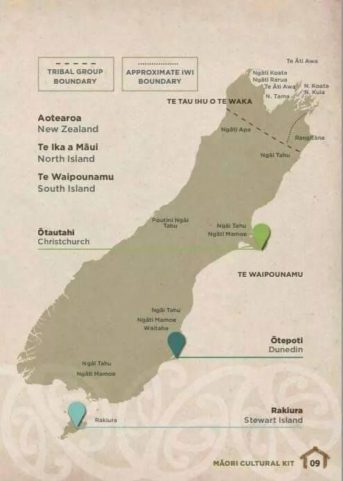 South Island Tribes