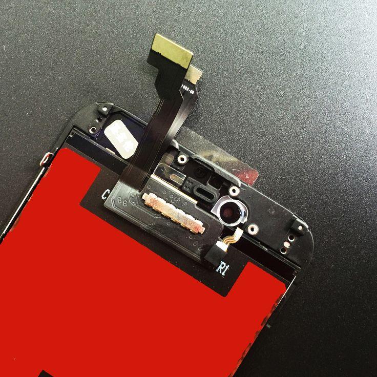Venta de La fábrica de Montaje para El <font><b>Iphone</b></font> 6 Pantalla LCD con Pantalla Táctil Digitalizador Reemplazo Negro y Blanco 4.7 pulgadas 100% Prueba