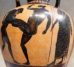Artifact Depicting Pankration