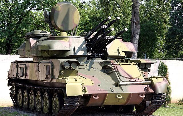 Russian ZSU-23-4 mean mother fucker. In SEAD operations, kill this asshole otherwise you have no rotary or low and slow heavy hitters.