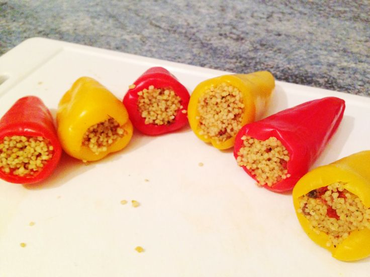 Liven Up Your Lunch Box : Slimming World Stuffed Sweet Peppers | Every Word Handwritten: Liven Up Your Lunch Box : Stuffed Sweet Peppers