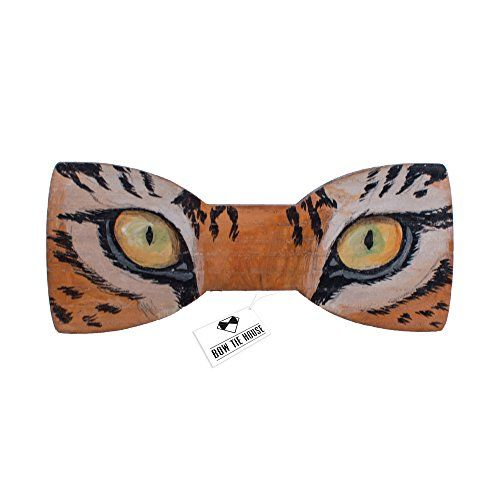 Tiger eyes painted bow tie wood bow tie mens and women ti... https://www.amazon.com/dp/B01F3KYNEK/ref=cm_sw_r_pi_dp_x_HJGKybE7AW8QY