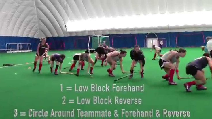 Fun pre-practice and game warm-ups can create great team chemistry. Watch the U.S. Women's National Team's favorite warm-ups instructed by Dave Hamilton, USA Field Hockey Director of Sport Science.