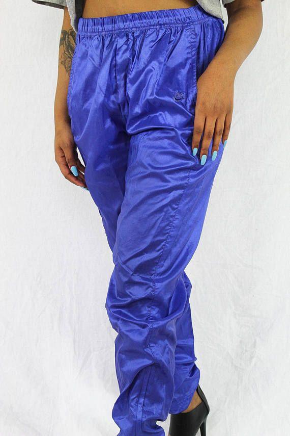 e666ce40988a Vintage Purple Nike Track Pants Women s Size Large 90s