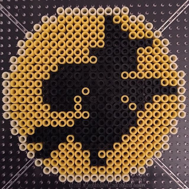 Witch Halloween perler beads by  a_gagoomal
