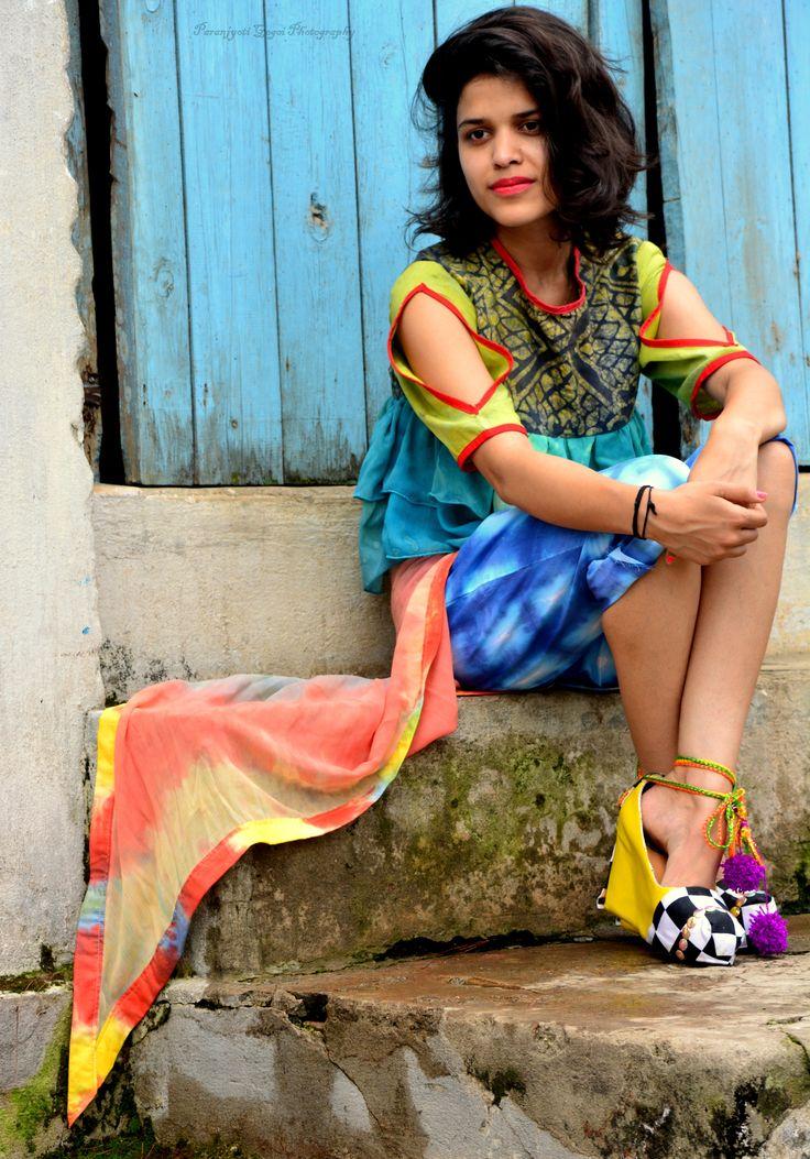 #self_design #tiendye #photography_naturallight #batik