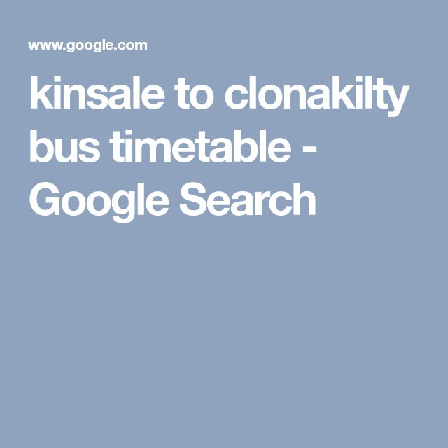 kinsale to clonakilty bus timetable - Google Search