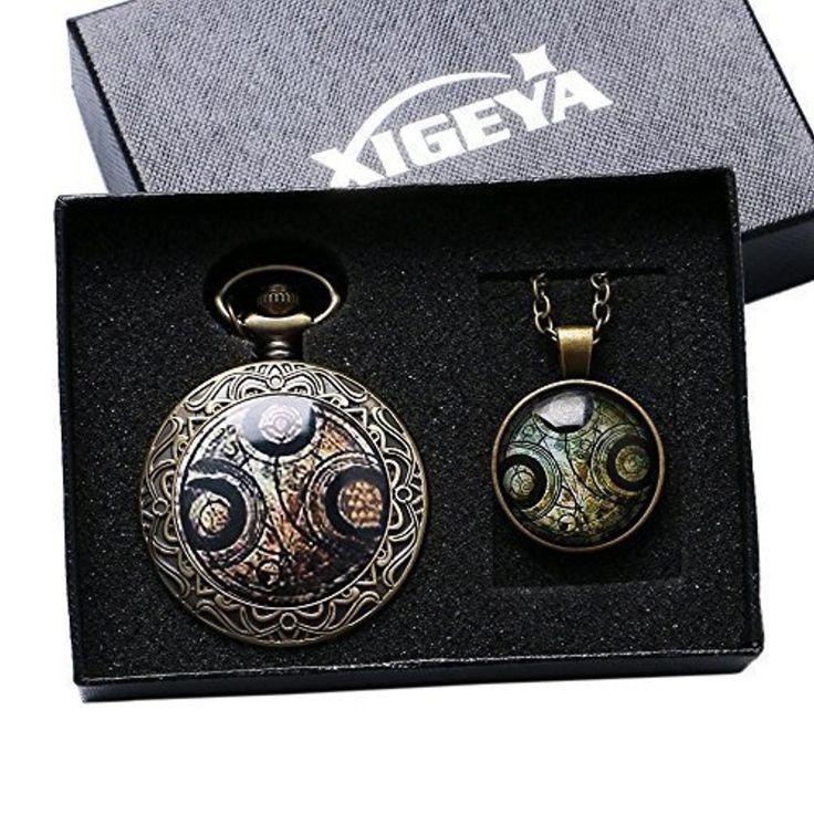 XIGEYA Doctor Who Fob montre Quartz collier pendentif montre De poche DC montre + coffret cadeau + collier 2017 #2017, #Montresdepocheetgoussets http://montre-luxe-femme.fr/xigeya-doctor-who-fob-montre-quartz-collier-pendentif-montre-de-poche-dc-montre-coffret-cadeau-collier-2017/