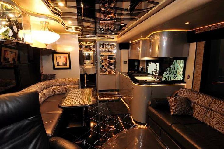 Luxury rv interior ravaging rv 39 s pinterest for Rv interior designs