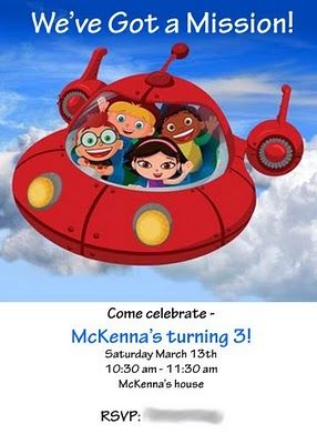 So Buttons: To Throw a Little Einsteins Party