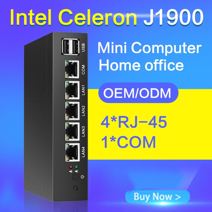 Tablet no fan mini pc J1900 quad core 4 LAN Router Windows 7/8/10 HTPC HD Graphics  pfsense TV Box VGA 4 RJ45 computer office