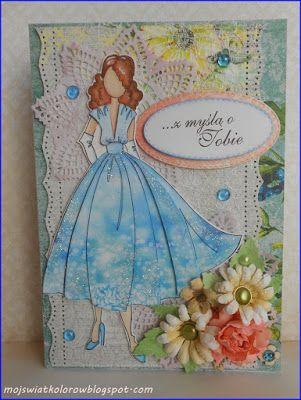 Mój świat kolorów...: Urodzinowa z Ritą...