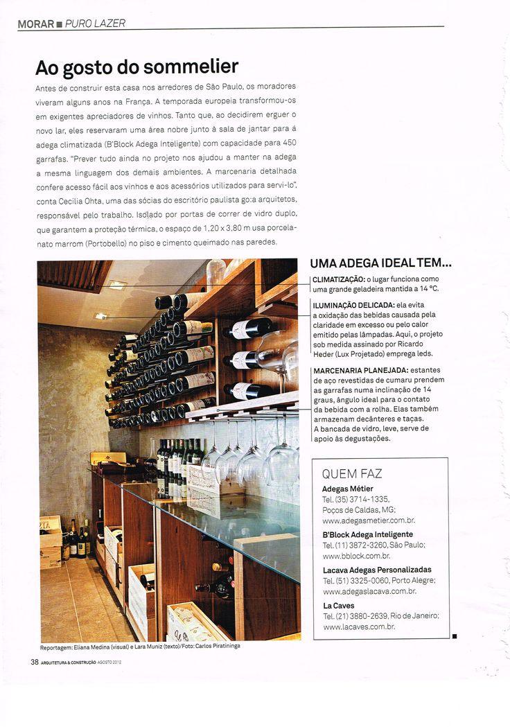 adega climatizada ambiente vinho madeira vidro