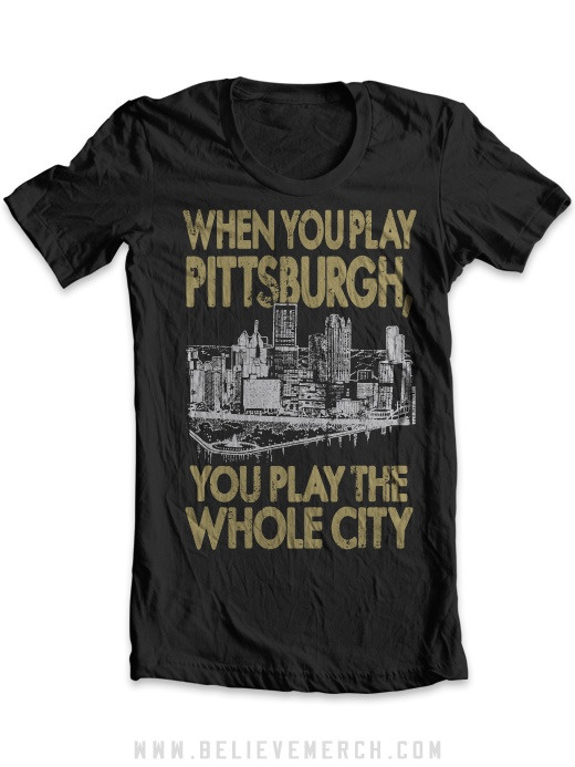 You could come here for a curling tournament and we'd be there in all our yinzer glory. XD