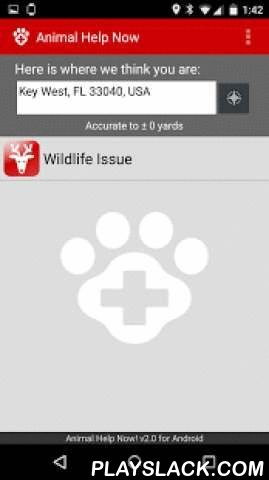 Animal Help Now  Android App - playslack.com ,  Animal Help Now directs anyone in the UNITED STATES who encounters WILDLIFE EMERGENCIES to the closest, most appropriate help, 24/7. Use it for orphaned or injured wildlife, stranded marine animals, and wildlife conflicts. Provides immediate access anywhere in the United States to wildlife rehabilitators, rescues, and hotlines, as well as humane wildlife control and veterinarians who treat wildlife.In COLORADO and TEXAS, Animal Help Now also…