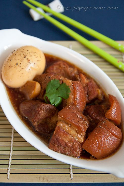Braised Pork and Eggs in Coconut: a Vietnamese staple dish and one of my all-time favorites!