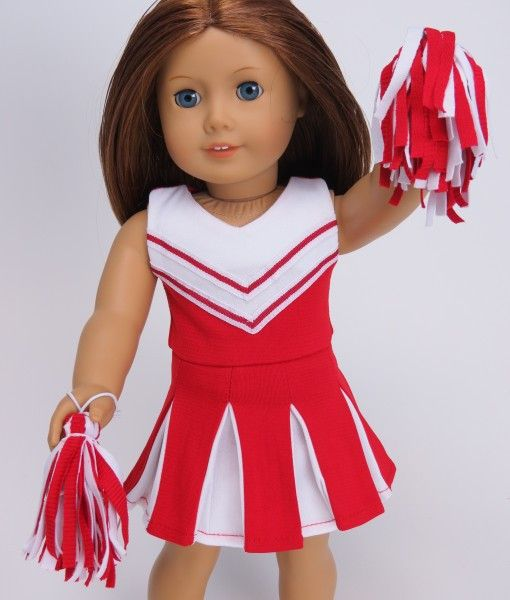 Cheerleading Outfit, RedWhite