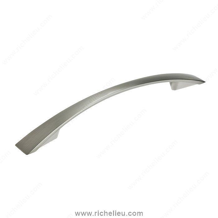 Poignée contemporaine en métal - 821 - BP821128195 - Quincaillerie Richelieu