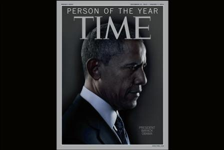 The TIME magazine Person of the Year edition features U.S. President Barack Obama. REUTERS-TIME Magazine-Handout. Sure why not after 2 murdered NAVY SEALS! He left behind, through in an American ambassador, add a border patrol agent, sprinkle with 1000's he left behind again after hurricane sandy! And yes! You have the man of someone's year.but! Not America. With all the great BLACK AMERICANS WE HAVE America had to cross the ocean and bring us snoop doggs cousin, little stupidy dogg times…