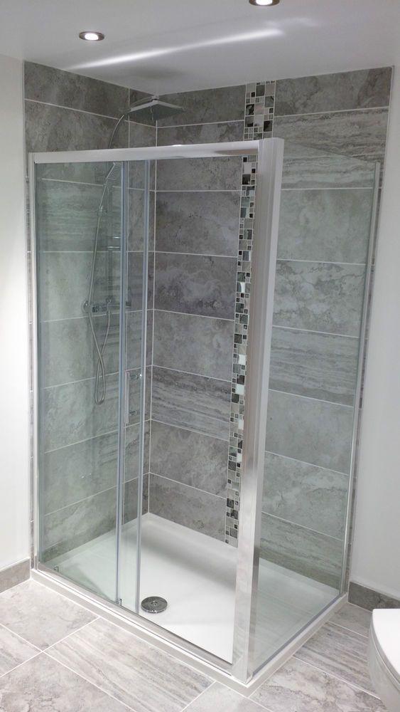 Grey Bathroom  Porcelain Matt Wall Floor 60x30cm Digi Print Tiles Priced per M2 #TerraneanCollection #Mediterranean