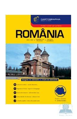 Romania – Atlas rutier si turistic, http://www.e-librarieonline.com/romania-atlas-rutier-si-turistic/