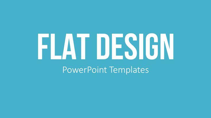 PowerPoint Templates Flat Design