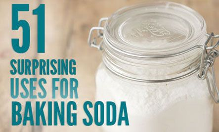 51 Fantastic Uses for Baking Soda-CAN'T WAIT TO TRY!!!